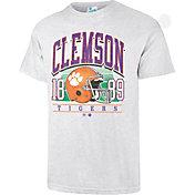 '47 Men's Clemson Tigers Grey Touchdown T-Shirt