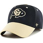 '47 Men's Colorado Buffaloes 2-Tone Flexfit Black Hat