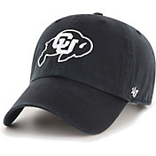 '47 Men's Colorado Buffaloes Primary Clean Up Adjustable Black Hat