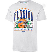 '47 Men's Florida Gators Grey Touchdown T-Shirt