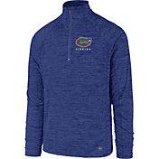 '47 Men's Florida Gators Blue Impact Quarter-Zip Shirt