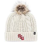 '47 Women's Florida State Seminoles Meeko Cuffed Knit White Hat
