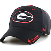 '47 Men's Georgia Bulldogs Defrost Adjustable Black Hat