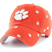 '47 Women's Clemson Tigers Orange Confetti Adjustable Hat