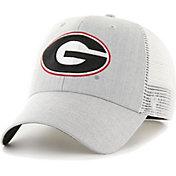'47 Men's Georgia Bulldogs Grey Grantview Flexfit Hat