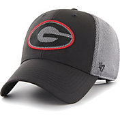 '47 Men's Georgia Bulldogs Black/Grey MVP Arlo Adjustable Hat