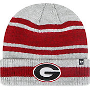 '47 Men's Georgia Bulldogs Grey Pro Cuffed Knit Beanie