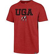 '47 Men's Georgia Bulldogs Red Inline Club T-Shirt