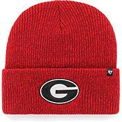 '47 Men's Georgia Bulldogs Red Brain Freeze Cuffed Knit Beanie