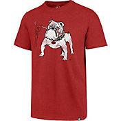 '47 Men's Georgia Bulldogs Red Imprint Club T-Shirt
