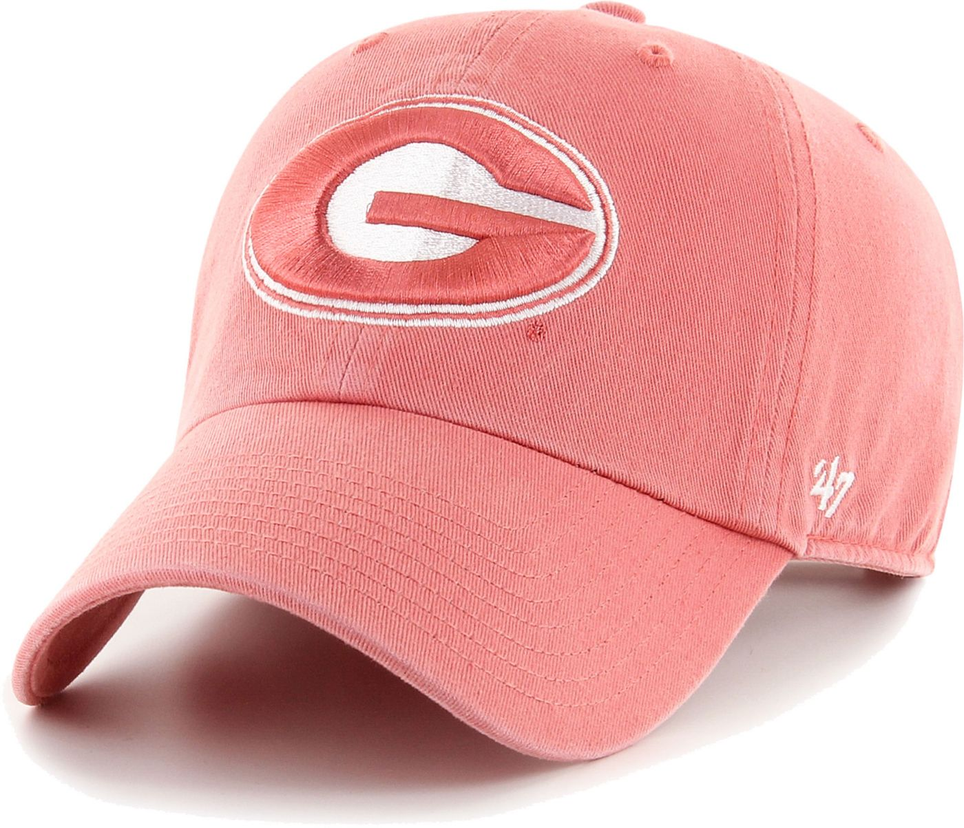 '47 Men's Georgia Bulldogs Red Island Adjustable Hat