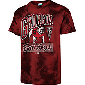 '47 Men's Georgia Bulldogs Red Touchdown T-Shirt