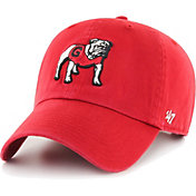 '47 Men's Georgia Bulldogs Red Throwback Adjustable Hat