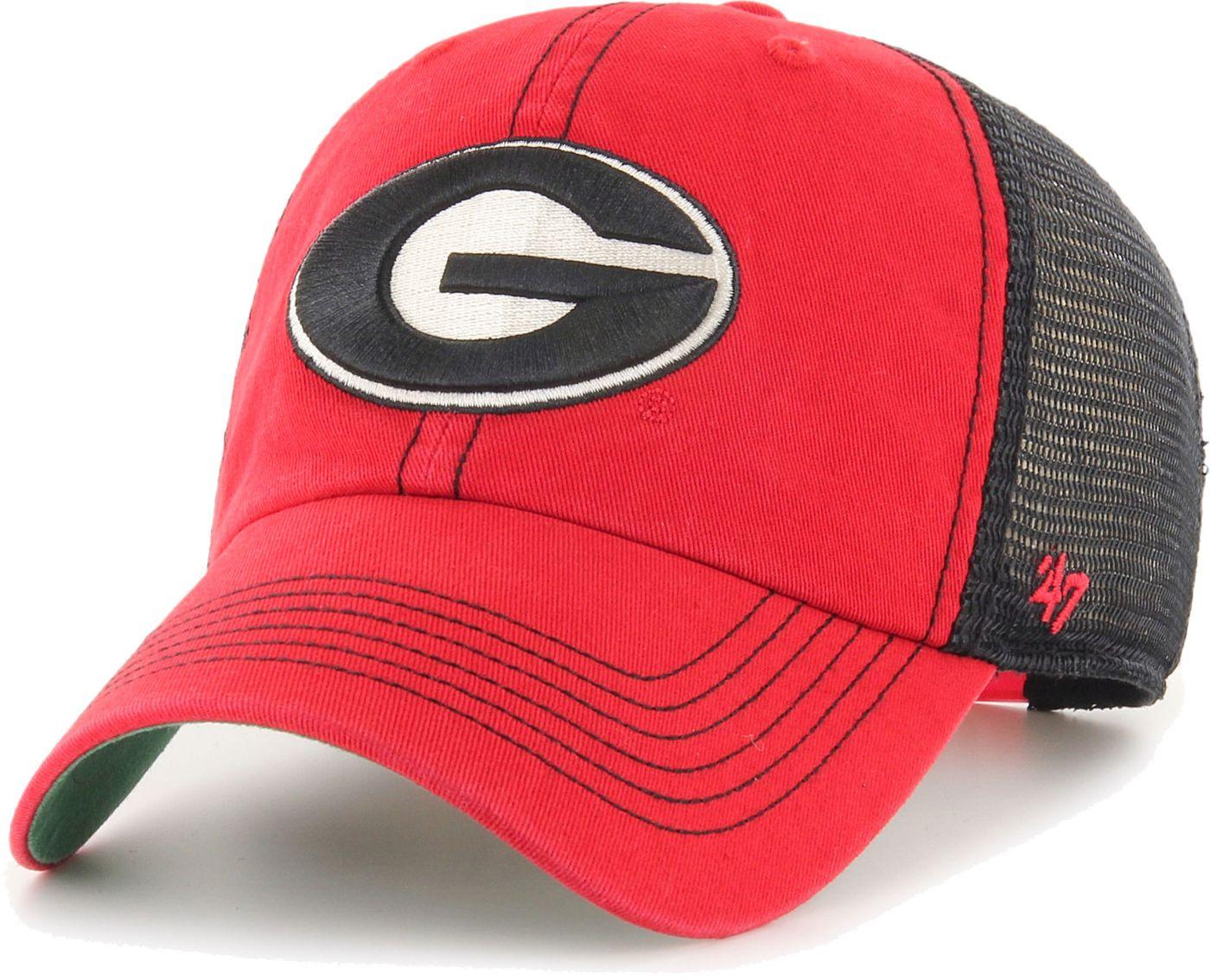 '47 Men's Georgia Bulldogs Red Trawler Adjustable Hat
