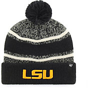 '47 Youth LSU Tigers Bubbler Cuffed Knit Black Beanie