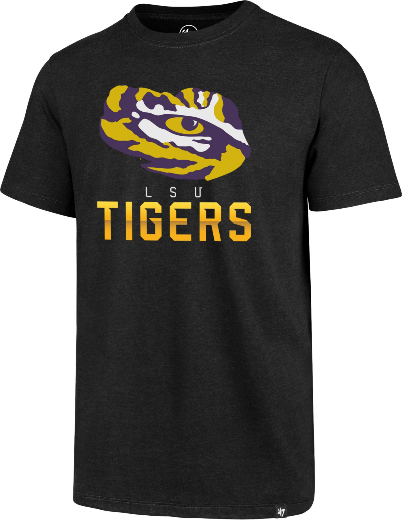 '47 Men's LSU Tigers Hype Club Black T-Shirt