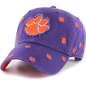 '47 Women's Clemson Tigers Purple Confetti Adjustable Hat