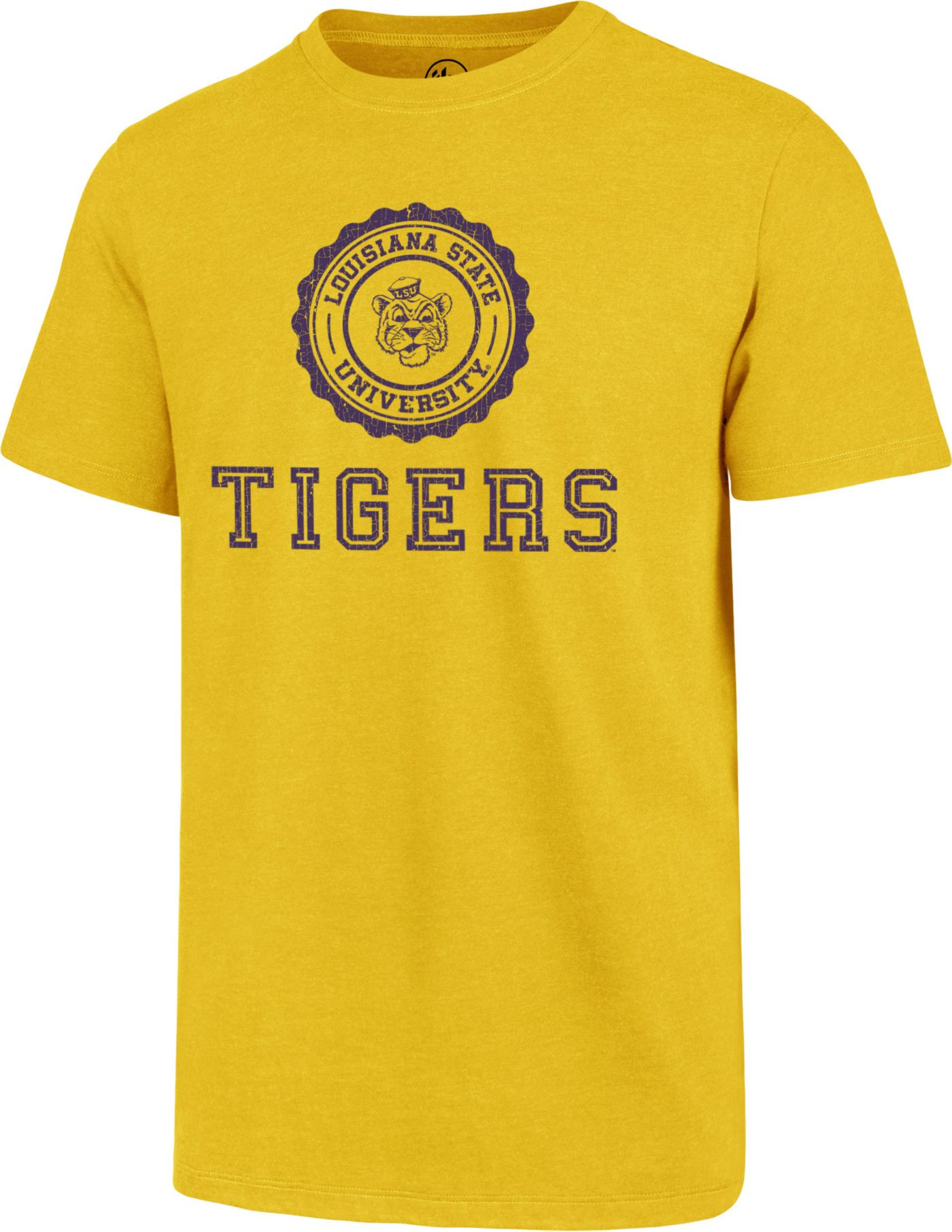 '47 Men's LSU Tigers Gold Alma Mater Club T-Shirt