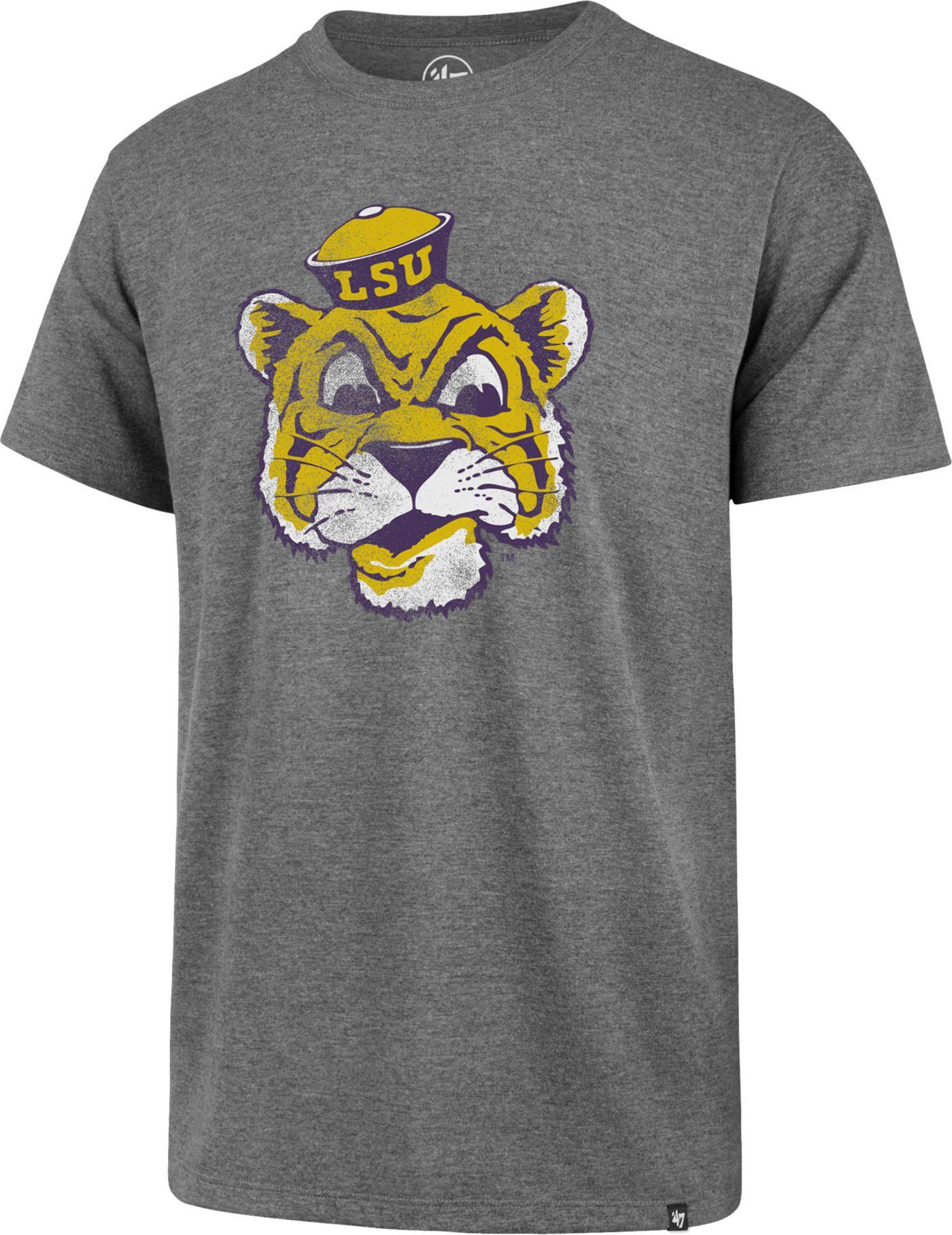 '47 Men's LSU Tigers Grey Imprint Club T-Shirt