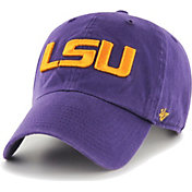 '47 Men's LSU Tigers Purple Clean Up Adjustable Hat