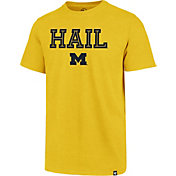 '47 Men's Michigan Wolverines Maize Inline Club T-Shirt