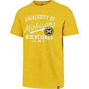 '47 Men's Michigan Wolverines Gold Grandstand Club T-Shirt
