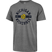 '47 Men's Michigan Wolverines Grey Roundabout Club T-Shirt