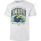 '47 Men's Michigan Wolverines Grey Touchdown T-Shirt