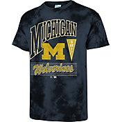'47 Men's Michigan Wolverines Blue Touchdown T-Shirt
