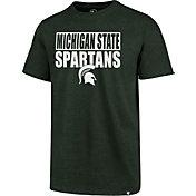 '47 Men's Michigan State Spartans Green Blockout Club T-Shirt