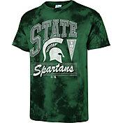 '47 Men's Michigan State Spartans Green Touchdown T-Shirt