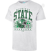'47 Men's Michigan State Spartans Grey Touchdown T-Shirt