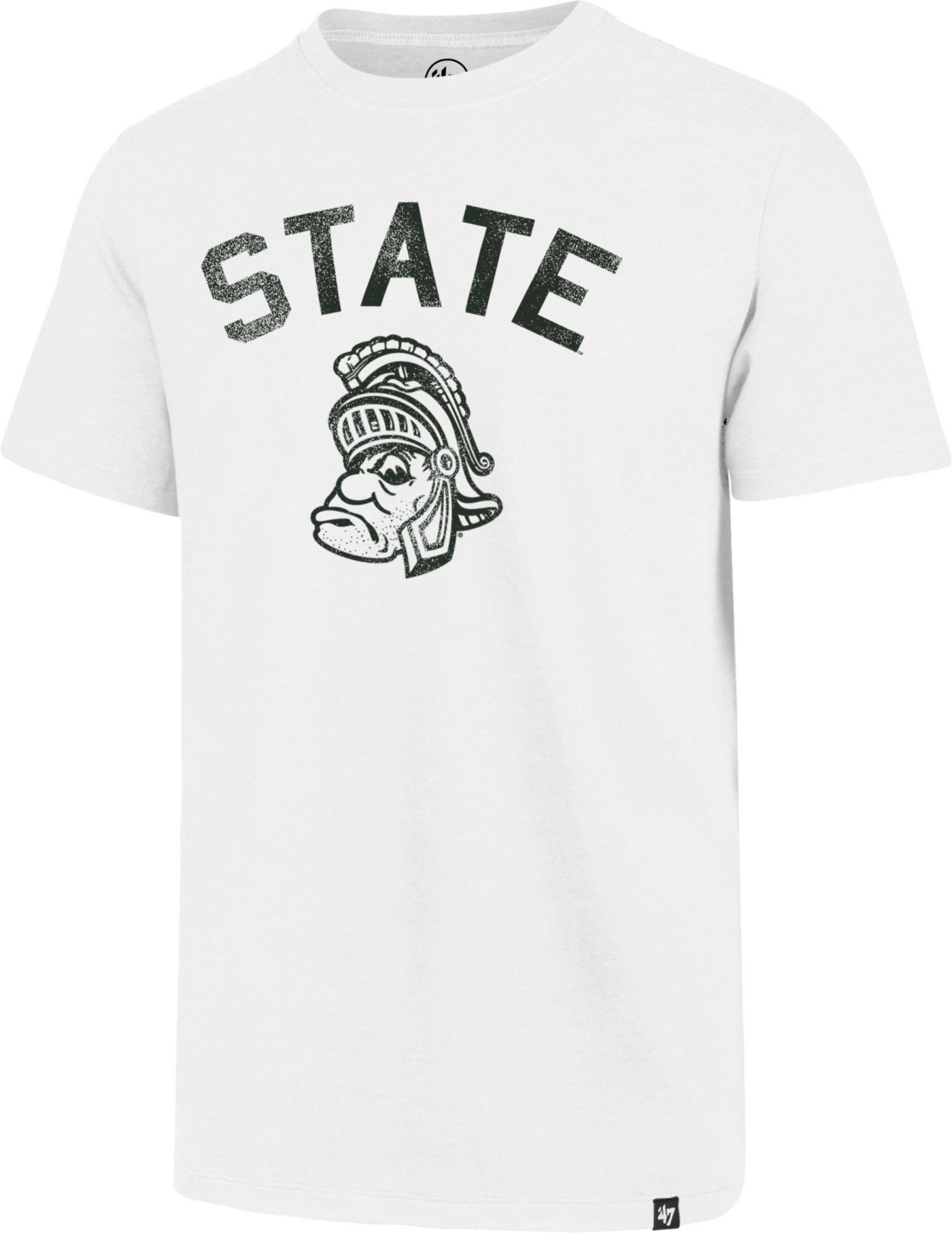 '47 Men's Michigan State Spartans White Landmark Club T-Shirt