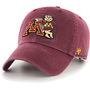 '47 Men's Minnesota Golden Gophers Maroon Clean Up Adjustable Hat