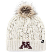 '47 Women's Minnesota Golden Gophers Meeko Cuffed Knit White Hat