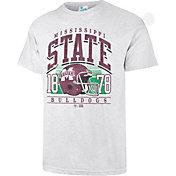 '47 Men's Mississippi State Bulldogs Grey Touchdown T-Shirt