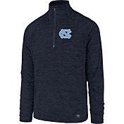 '47 Men's North Carolina Tar Heels Navy Impact Quarter-Zip Shirt