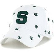 '47 Women's Michigan State Spartans Confetti Adjustable White Hat