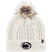 '47 Women's Penn State Nittany Lions Meeko Cuffed Knit White Hat