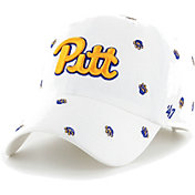 '47 Women's Pitt Panthers Confetti Adjustable White Hat