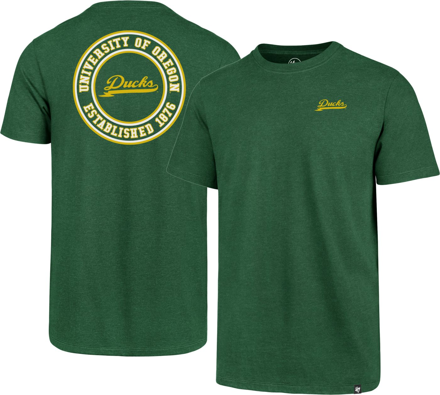 '47 Men's Oregon Ducks Green Scholar Club T-Shirt