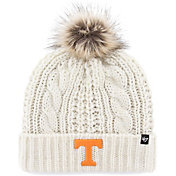 '47 Women's Tennessee Volunteers Meeko Cuffed Knit White Hat