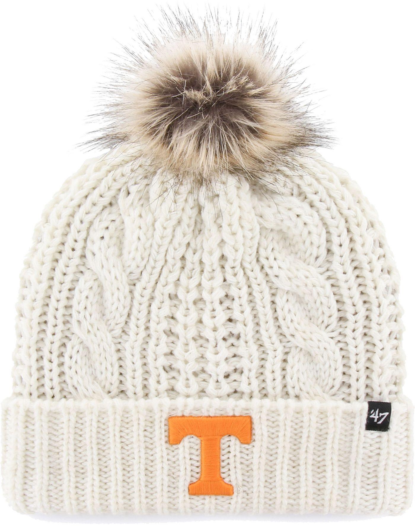 '47 Women's Tennessee Volunteers Meeko Cuffed Knit White Hat