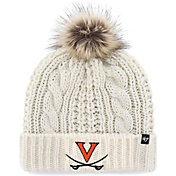 '47 Women's Virginia Cavaliers Meeko Cuffed Knit White Hat