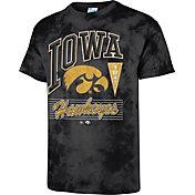 '47 Men's Iowa Hawkeyes Touchdown Black T-Shirt