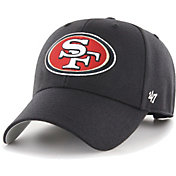 '47 Men's San Francisco 49ers MVP Black Adjustable Hat