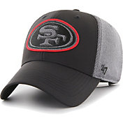 '47 Men's San Francisco 49ers Arlo MVP Adjustable Black Hat