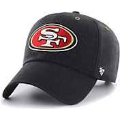 '47 Men's San Francisco 49ers Carhartt Clean Up Adjustable Black Hat