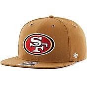 '47 Men's San Francisco 49ers Carhartt Captain Adjustable Brown Hat