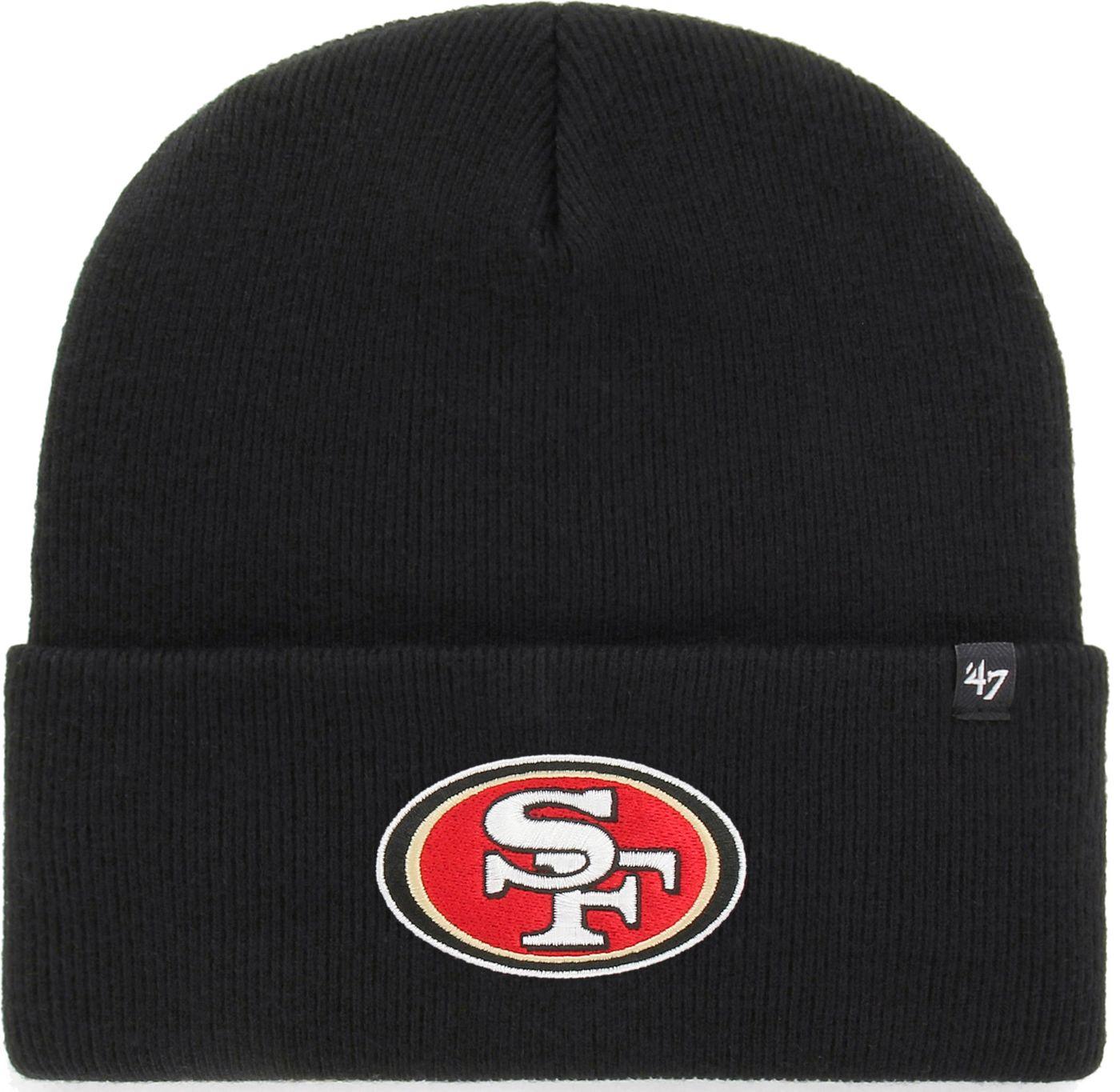 '47 Men's San Francisco 49ers Carhartt Black Knit Hat